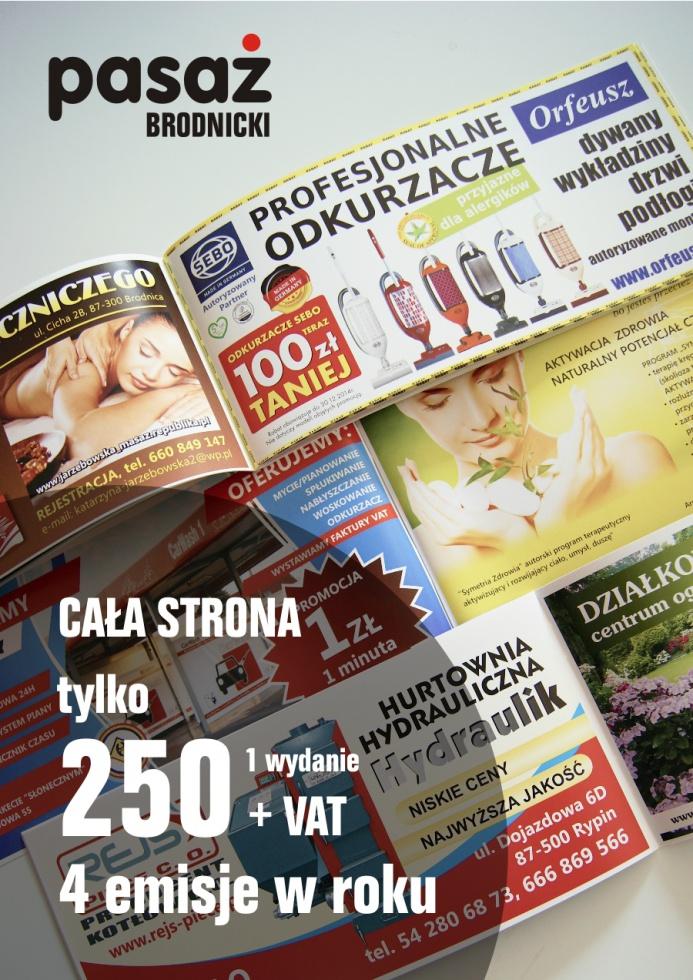 cena reklamy Brodnica