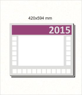 kalendarz biurkowy podkład 2015 cena