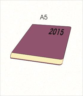 kalendarz książkowy A5 2015 cena
