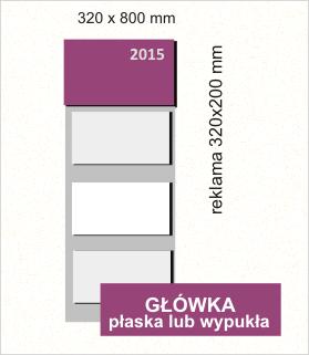 kalendarz trójdzielny 2015 cena